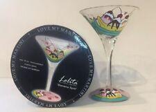 "Lolita The Martini Collection ""Banana Split"" 10 oz Martini Glass w/ Box"