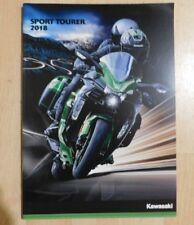 Kawasaki Sport Tourer Motorcycle Brochure 2018 - Ninja H2 Sx Z1000Sx Zzr1400