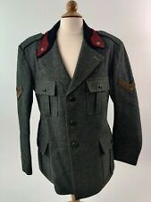 Pre WWII Italian Army Infantry Sergeant Lined Wool 4 Pocket Tunic dated 1931 WW2