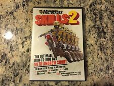 TRANSWORLD MOTOCROSS SKILLS 2 WITH ANDREW SHORT RARE NEW SEALED DVD INSTRUCTION!