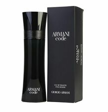 Armani Code Giorgio Armani Men 4.2 oz 125 ml *Eau De Toilette* Spray Nib Sealed