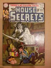 HOUSE OF SECRETS #82 1969 DC COMICS SILVER AGE HORROR COMIC