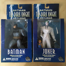 DC Direct Batman The Dark Knight Returns Batman & Joker Action Figure 2004 Boxed