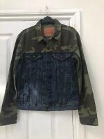 Levi's Jacket | Mens Half Camo | SIZE UK S/M/L/XL | 100% GENUINE | Free Delivery