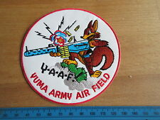 US Army Marine Corps Air Station Yuma Airfield Arizona USMC NAVY PATCH WWII wk2
