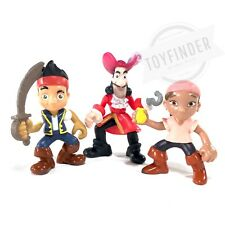 "Fisher Price ImagiNext Neverland Pirates JAKE IZZY CAPTAIN HOOK 3.75"" Figures"