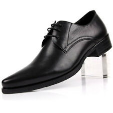 New Men's Genuine leather Dress Formal shoes Lace up Wedding Gift Party  F0351