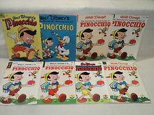 Pinocchio Dell Four Color + more LOT Solid! 8 Comics (s 9088)