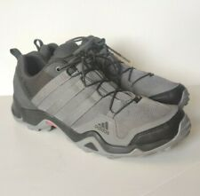 Adidas Terrex AX2R Hiking Trail Outdoor Shoes Grey Black Athletic Men's Size 12