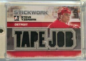 2013-14 ITG Stickwork: Tape-Job-Steve Yzerman