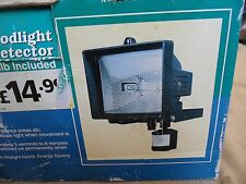 New Halogen Floodlight Light Infra Red Sensor Movement Detector Outdoor Security