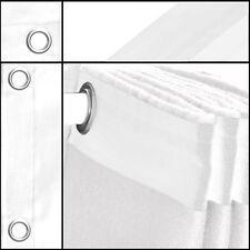 Bühnenvorhang-Backdrop-Geöst Molton-Stoff weiß 3mx5m Konfektioniert