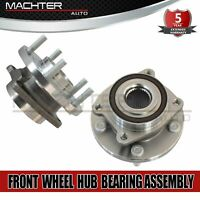 2 Front Wheel Bearing Hub For 2007-2014 Chrysler 200 Sebring & Dodge Avenger ABS