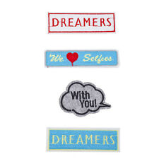 With You Patches Pack (4Pcs) Lux Accessories Dreamers We Love Selfies