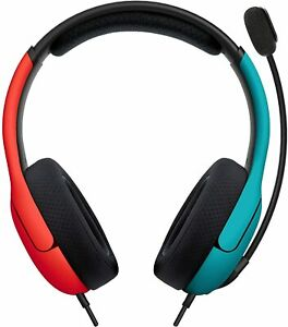 PDP LVL40 Wired Stereo Headset for NS -Joycon Blue/Red