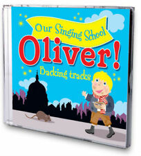 OLIVER! Our Singing School Karaoke Audition BACKING TRACKS Instrumental Audio CD