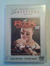 WWF Attitude - In Your House Rock Bottom 1998 DVD WWE Rare