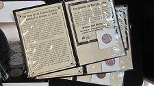 1-1808 Sunken Treasure Coin Shipwreck of the Admiral Gardner w/COA Premium Grade