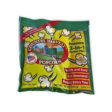 Country Harvest 8 Ounce Tri-Pack (Regular Case of 24) Grown in USA!