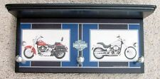 harley davidson motorcycles softail heritage classic wall shelf towel coat rack