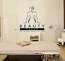 Wall Stickers Vinyl Decal Massage Beauty Salon Spa Relaxation Relax (ig1701)