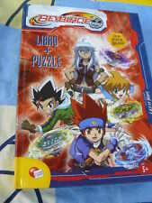 Beyblade libro + Puzzle 204 pezzi