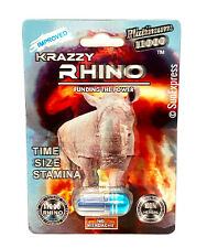 *FLASH SALE* Krazzy Rhino Sex Pill Performance Male Enhancement Platinum 11000