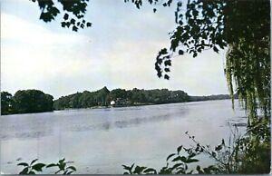 1950s Milford Delaware Haven Lake Brueckmann Postcard GE