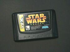 Sega Mega Drive Super 32X Star Wars Arcade Japan Import Genesis game US Seller