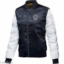 ~Adidas RITA ORA COSMIC CONFESSION Satin Bomber sweat shirt VEST-JACKET~Womens M