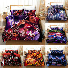 Marvel Avengers Bedding Set 3PCS Endgame Duvet Cover Pillowcases Comforter Cover