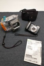 Canon PowerShot A640 10.0mp  Digital Camera w/ Canon WP-DC8 Underwater Housing