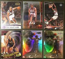 Awesome 1998-99 Vince Carter 6-Card Rookie Lot – Mint –Showcase - Chrome ++