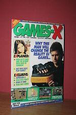 GAME-X Sneak Preview March issue1991 Amiga ST PC C64 Spectrum Sega Atari Vintage