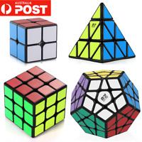 Magic Cube 2x2 3x3 4x4 5x5 Super Smooth Fast Speed Rubik Puzzle Rubics Rubix