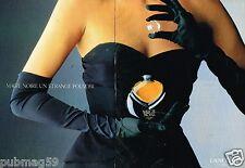 Publicité advertising 1989 (2 pages) Parfum Magie Noire de Lancome