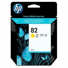 Véritable Authentique HP Hewlett Packard HP 82 Cartouche d'encre jaune C4913A 69 ml