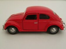 A SS Models Red 1967 Volkswagen Classic Beetle Diecast Model Toy Car
