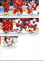 2018-19 Upper Deck Series 2 Hockey Detroit Red Wings Team Set of 7 Cards
