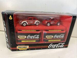 Matchbox Coca Cola Target Exclusive 1998 Volkswagen Two Car Set