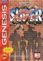 Super Street Fighter II - Original Sega Genesis Game
