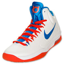 NIKE KD V WHITE SZ: 5.0 Y SAME AS WOMAN SIZE 6.5 HOME DEAD STOCK SUPER RARE NEW!