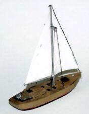 LANGLEY MODELS 30ft EN BOIS CONSTRUIT Yacht à voile échelle N non peint Kit