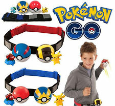 Pokemon Clip Carry Adjustable Hanging Poke Ball Belt Xmas Gift Funny Play Game