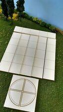 O Scale Laser Cut  New Sidewalk - 120 Scale Feet
