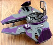 Hasbro Star Wars Transformers Crossover Mace Windu to Jedi fighter Star Wars