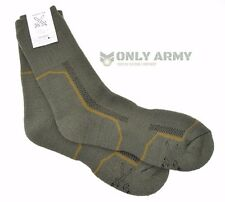 2 x Pairs Czech Army Cushioned Socks Thermal Long Warm Thick Military Boots Sock