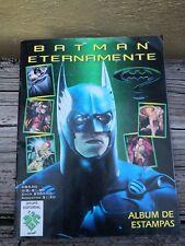 1995 BATMAN FOREVER MEXICO PEPSI MOVIE PROMO STICKERS ALBUM