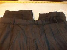Brooks Brothers custom tailored wool pleated cuffed 40 x 26 #129