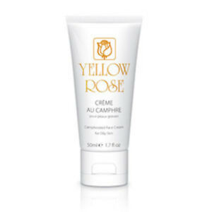 Yellow Rose Creme Au Camphre (50ml) Acne-prone and Oily Skin Treatmen EU Seller